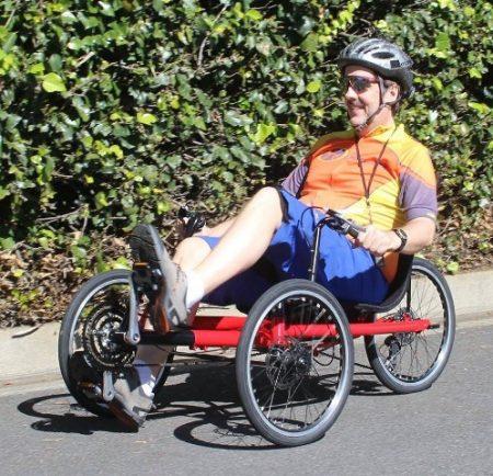 Guy Riding Avenue Trike