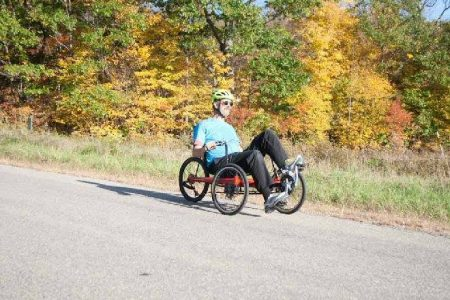Avenue Trike in the fall