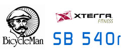 Xterra Fitness SB 540r from the Bicycle Man