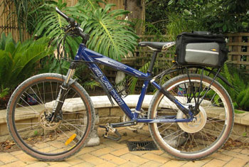 BionX Electric Bike Motor can be used on a Mountain Bike