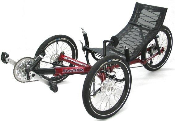 Greenspeed for heavier riders