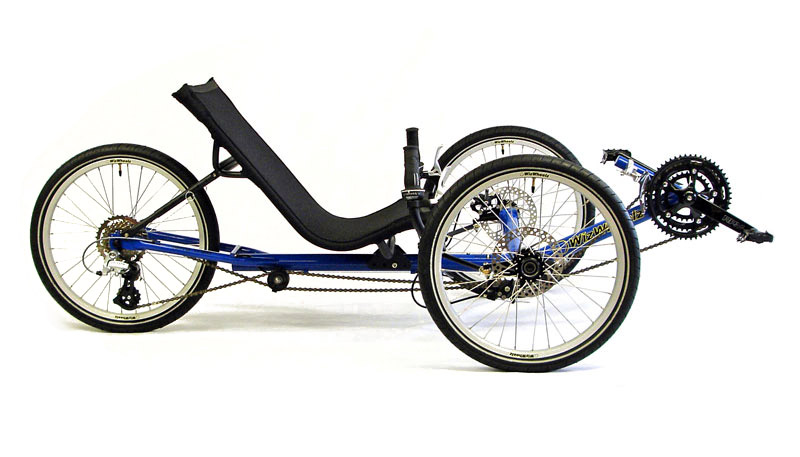 Terratrike Cruiser in Blue