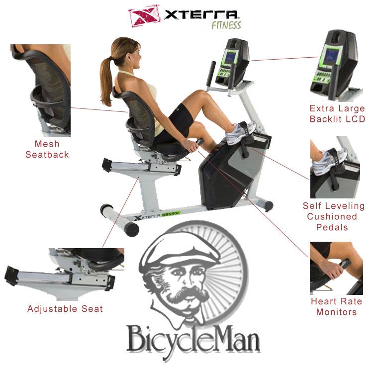 Xterra Fitness Sb 540r Bicycle Man