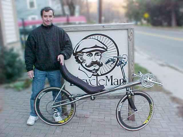 Bacchetta Aero Ti Recumbent Bike Bicycle Man