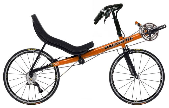 Bacchetta Carbon Aero 2 Recumbent Bike Bicycle Man