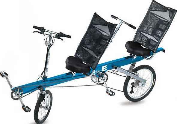 Blue BikeE E2