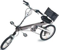 Silver BikeE FX