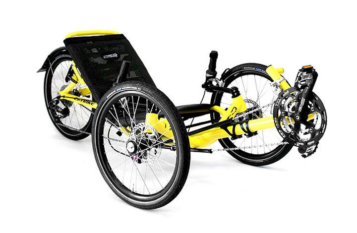 Catrike Trail Recumbent Trike Bicycle Man