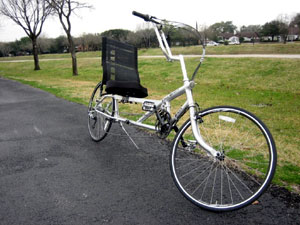 Cycle Genius Raven Recumbent Bike Bicycle Man