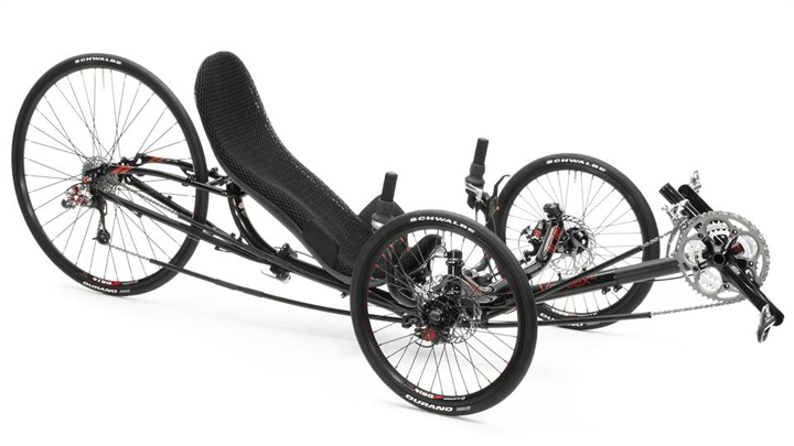 Ice Vortex Recumbent Trike - Bicycle Man