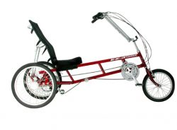 Sun EZ 3 SX and CX Delta Trike