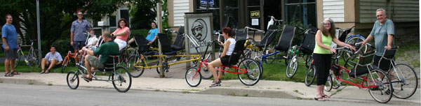 Test Ride your next Recumbent Bike - Trike at the Bicycle Man in Alfred New York