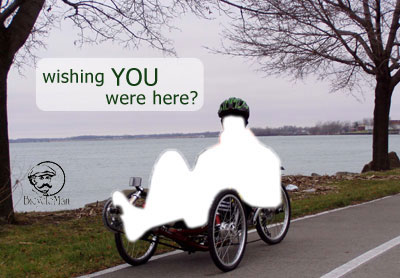 A Recumbent Bike or Trike may be just what the Doctor Ordered!